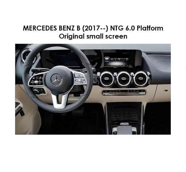 Android 9.0 MT for Mercedes Benz B (NTG 6.0 Platform) after 2017