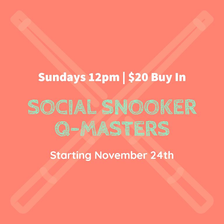 Social Snooker Comp