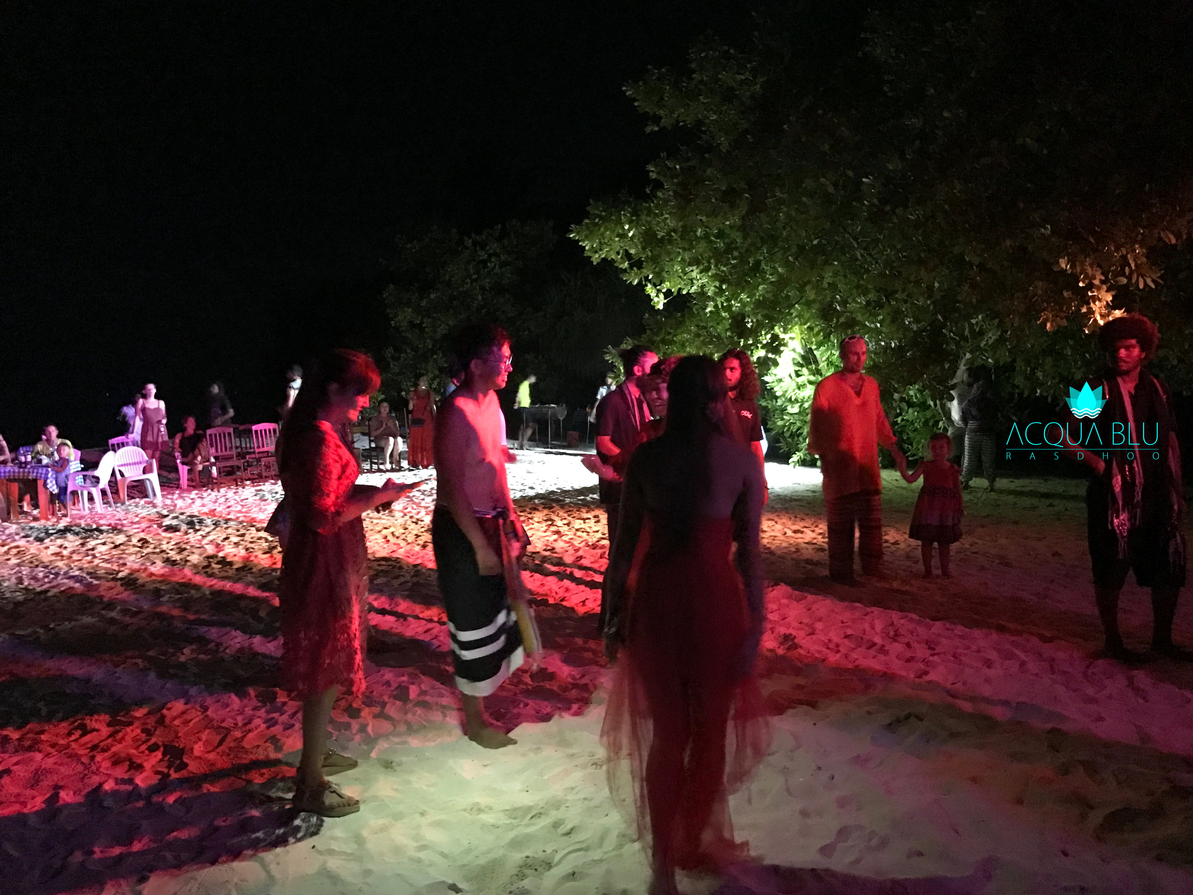 NIght Barbecue | Acqua Blu Rasdhoo