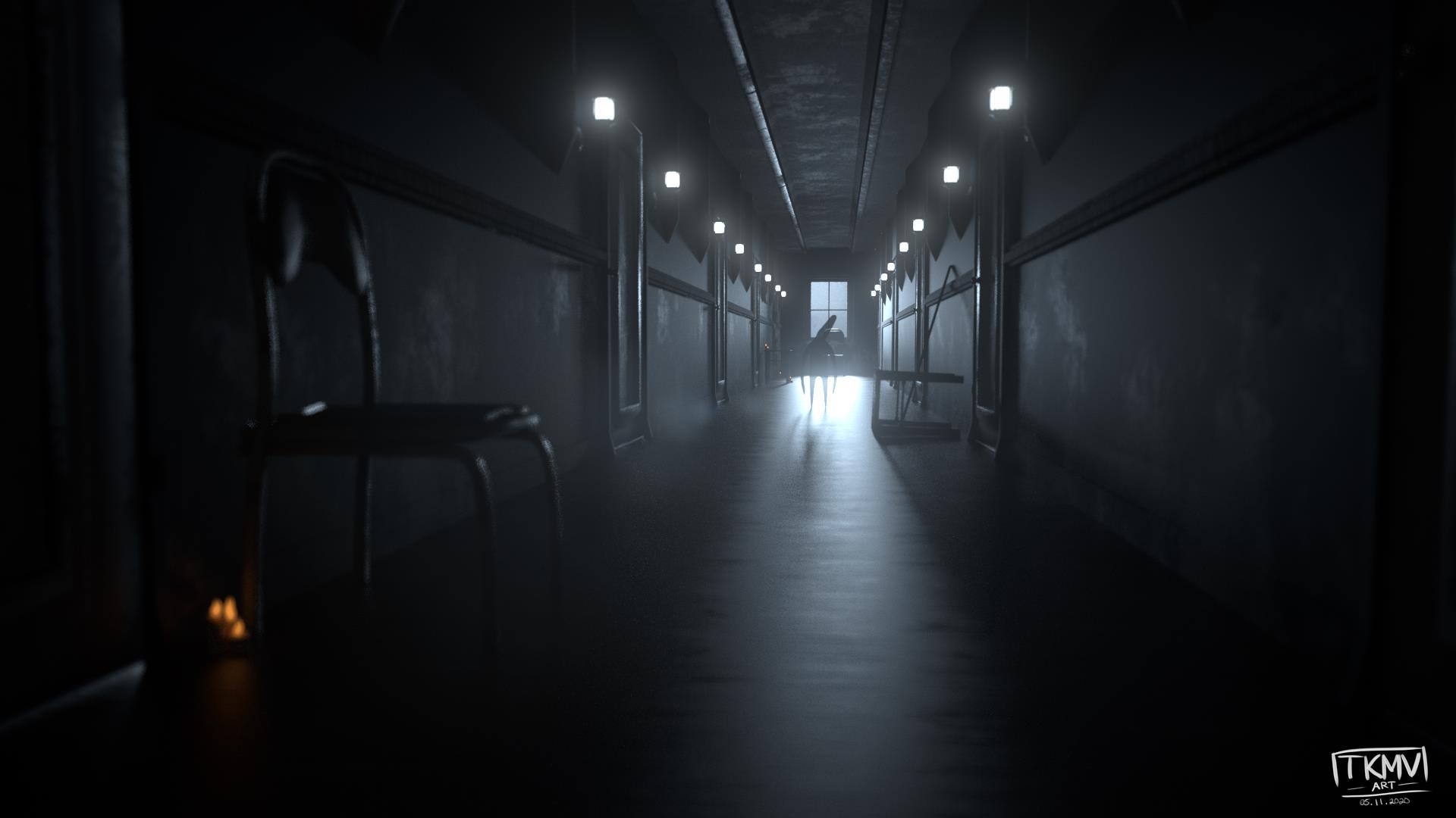 TKMV Creepy Crazy Hallway