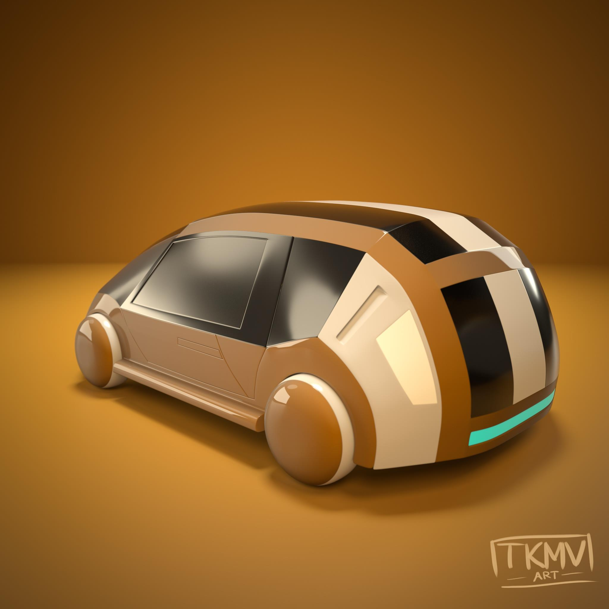 Future Car Design 01 Back
