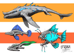 Fantasy Sea Creatures