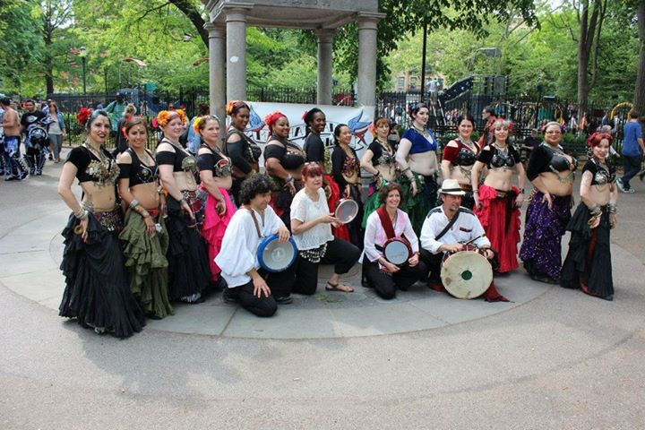 At Thompkins Square 2015 Dance Parade Wh