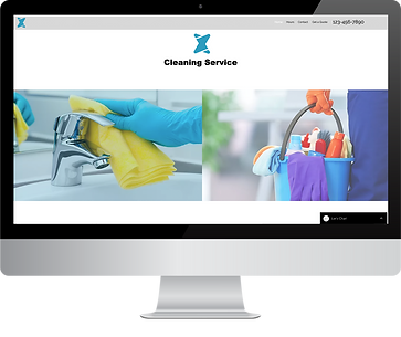 Wix Expert Studio Cleaning Service Site For Sale