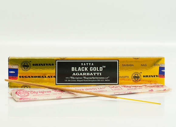 Black and Gold Incense