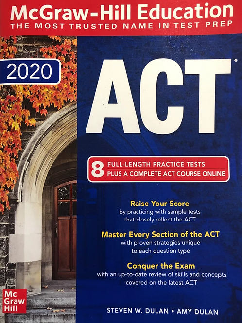 ACT 2020 - 8 Practice Tests