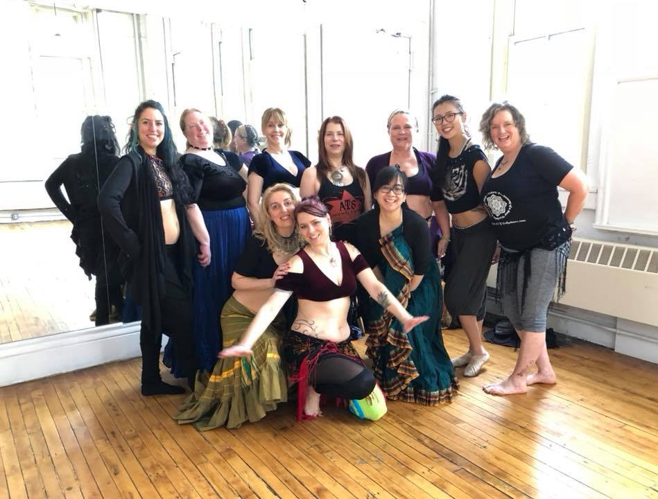 Phillipa and Gudrun Workshop NYC Jan 201