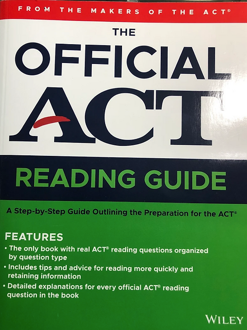 The Official ACT Reading Guide (2020)