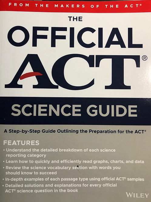The Official ACT Science Guide (2020)
