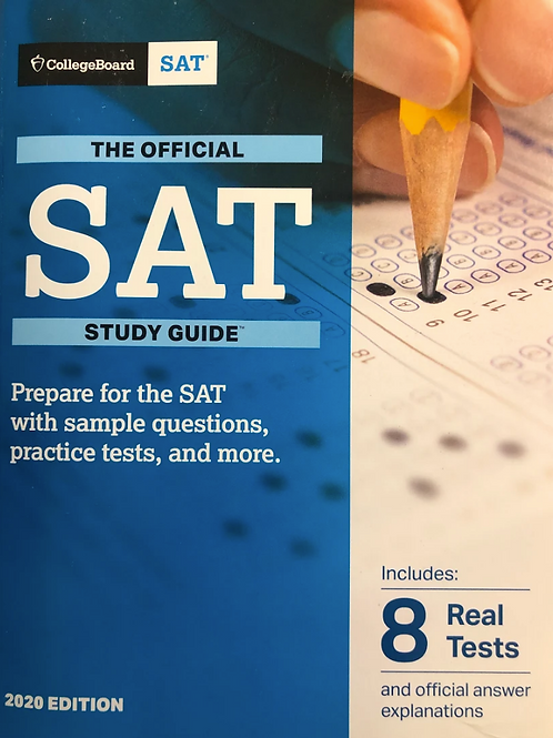 The Official SAT Study Guide 2020