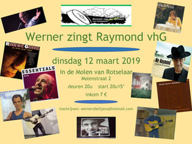Bioboer Werner zingt Raymond vhG