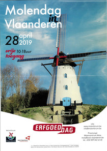 Molendag in Vlaanderen 28 april 2019