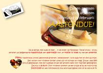 14 februari 2020 Kaasfondue