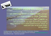 Mik Deboes zingt, Jan Coeck begeleidt ...