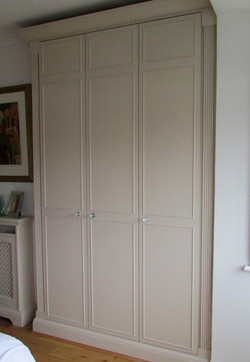 wooden fitted wardrobes