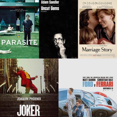 Mis 10 películas favoritas del 2019