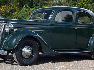 THE 1950 FORD PILOT  – BRITAIN'S FAMILY CAR.