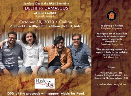 Delhi to Damascus Album Launch Concert!