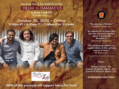 Delhi to Damascus Album Launch Concert!