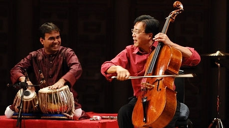 Sandeep Das performs World Music with Yo-Yo Ma