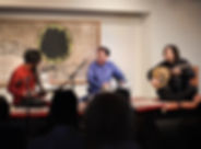 Sandeep Das and the HUM Ensembe perform at the Ismaili Center in Dallas, Txexas