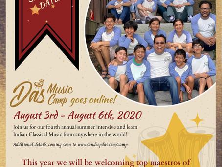 Das Music Camp Goes Virtual!