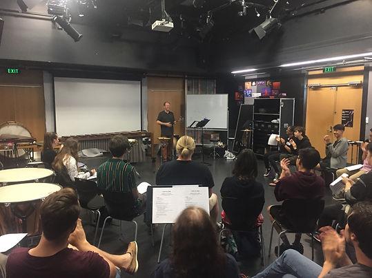 TAPS Percussion Seminar in New Zealand