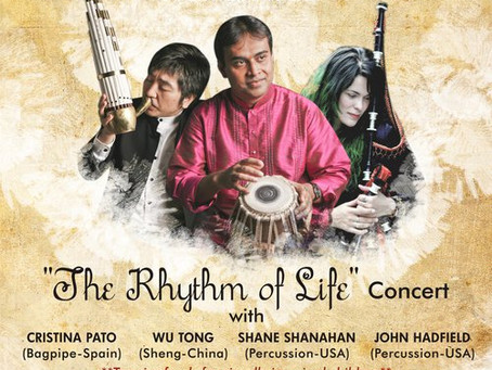 Coming this February... The Rhythm of Life!