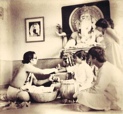 Sandeep Das becoming a disciple of Pt. Kishan Maharaj