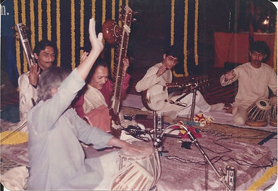 Sandeep Das performs with Ravi Shankar and Pt. Kishan Maharaj