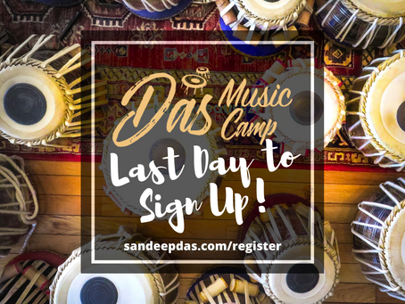 Last Day to Sign Up for Das Music Camp Online!