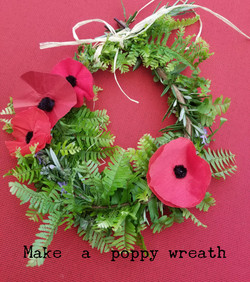 ANZAC Poppy Craft
