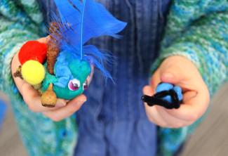 Preschool incursion - critter making