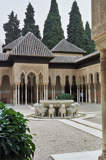 Patio of the Lions, The Alhambra, Granada