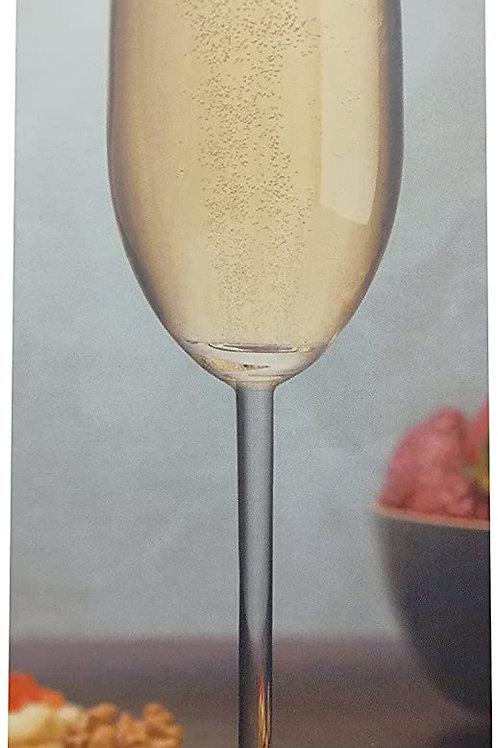 Guzzini Nude Set 2 Calici In Vetro Da Champagne Vintage