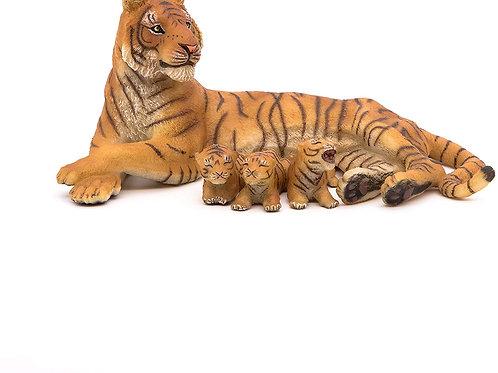 Papo 50156 Tigre Che Allatta