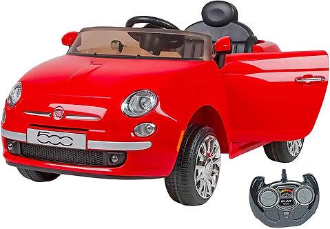W'Toy 02909 Fiat 500 Auto Elettrica Colore Rosso