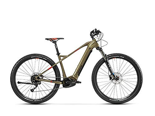 "Lombardo Bici Elettrica Chamonix 8.0 Metal Brown/Black 29"" Misura 45"
