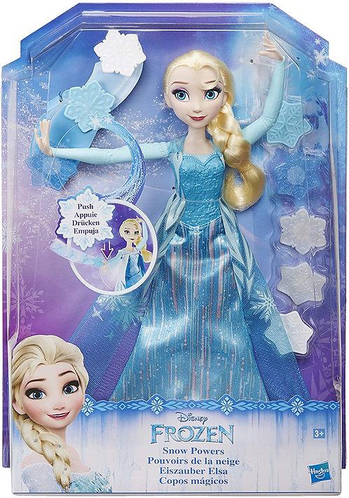 Disney Frozen Bambola Elsa Lancia Cristalli di Ghiaccio B9204