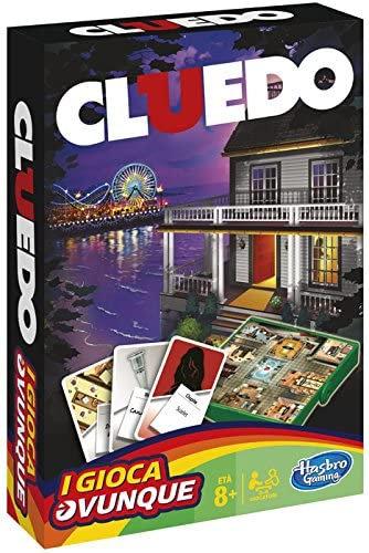 Hasbro I Gioca Ovunque Cluedo