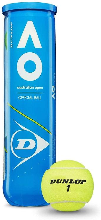 DUNLOP Australian Open Palline Tennis 2 Tubi da 4pz