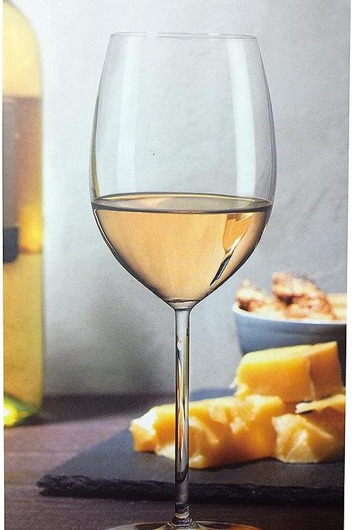 Guzzini Nude Set 2 Calici In Vetro Da Vino Bianco Vintage