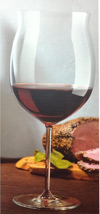 Guzzini Nude Set 2 Calici In Vetro Bourgogne Grandi
