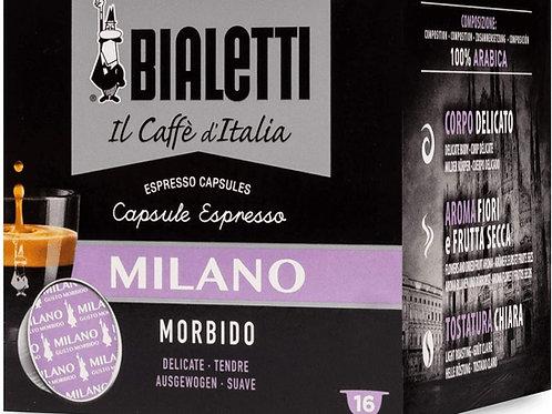 Bialetti 096080070/M Caffè Milano Gusto Morbido 16 Capsule