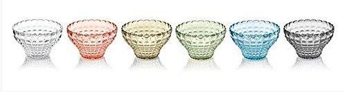 Guzzini 22580152 Set 6 Copette Tiffany Multicolore 12 cm