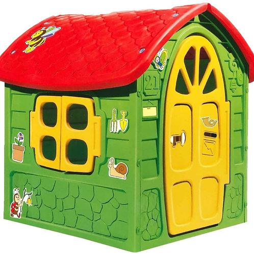 W'Toy 07261 Casetta Multicolore 120x113x111cm