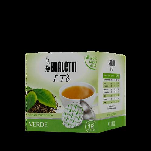 Bialetti 096080216 Tè Verde Senza Zucchero 12 Capsule