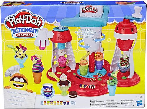 Play-Doh La Fabbrica dei Gelati E1935