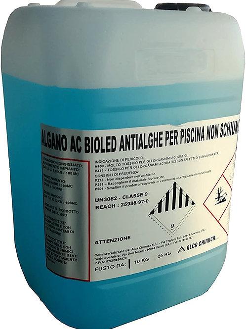 Comm. da Alca Chimica, Algano AC Bioled Antialghe per Piscina Non Schiumoso 10KG