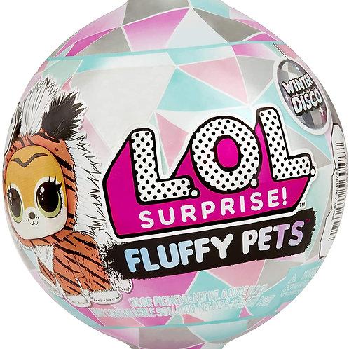 LOL Surprise Fluffy Pets Winter Disco Modelli Assortiti